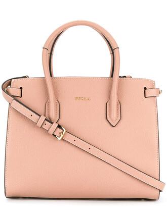 women bag shoulder bag leather purple pink