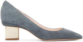 heels suede grey shoes