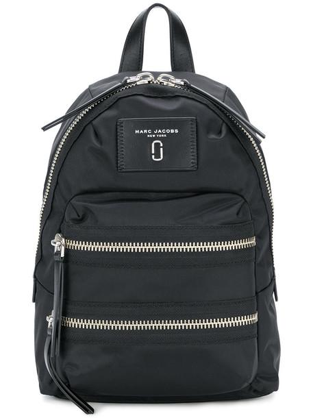 Marc Jacobs mini women backpack leather black bag