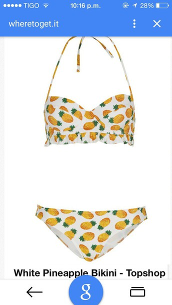swimwear pineaple