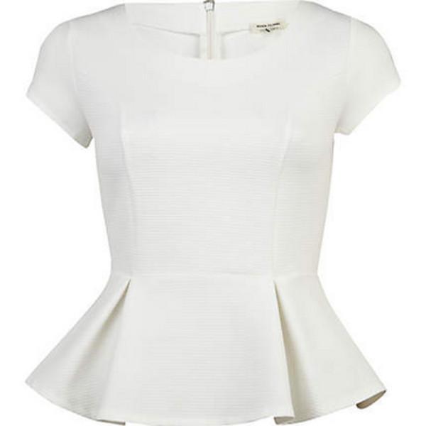 shirt peplum