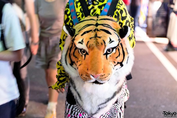 Hipster tiger face - photo#14