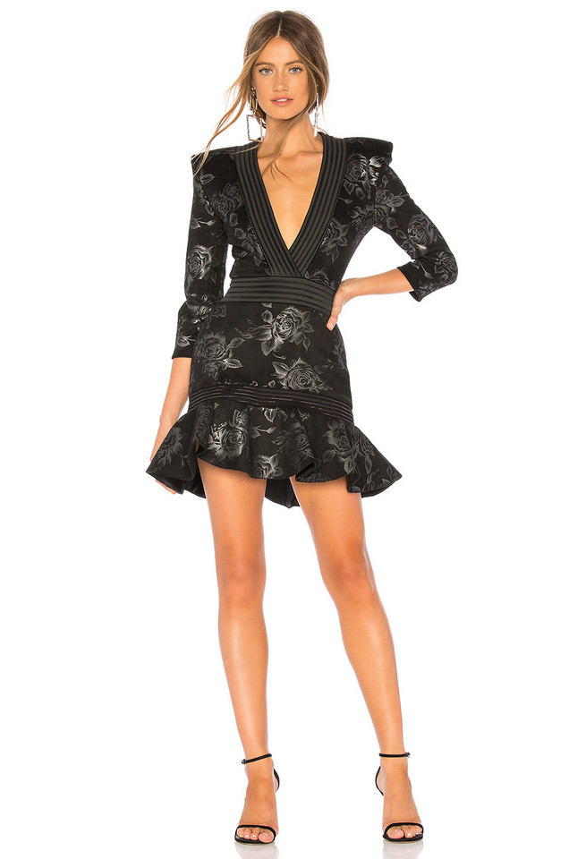 Zhivago There Is Magic In There Mini Dress in black