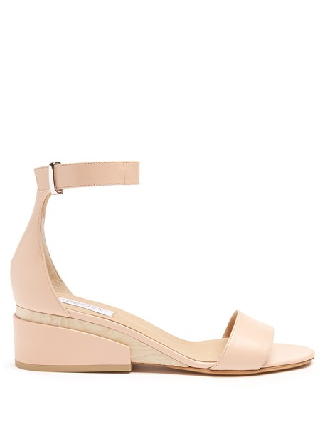 Gabriela Hearst sandals leather sandals leather nude shoes
