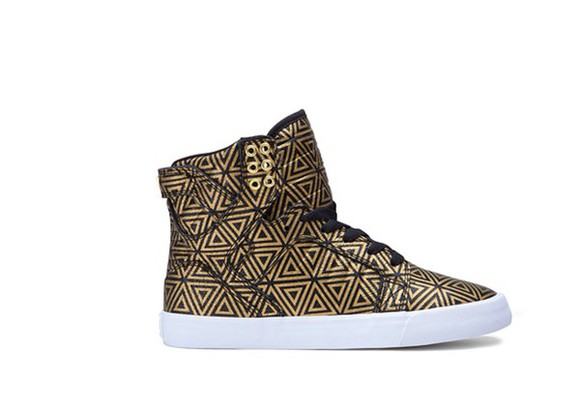 aztec gold sneakers jordan shoes hipster jewelry graphic bold necklace