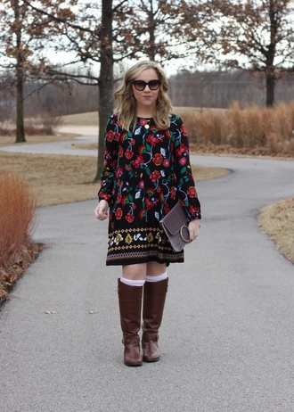 stylin in st. louis blogger dress jewels shoes sunglasses