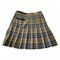 Wool mini skirt burberry multicolour