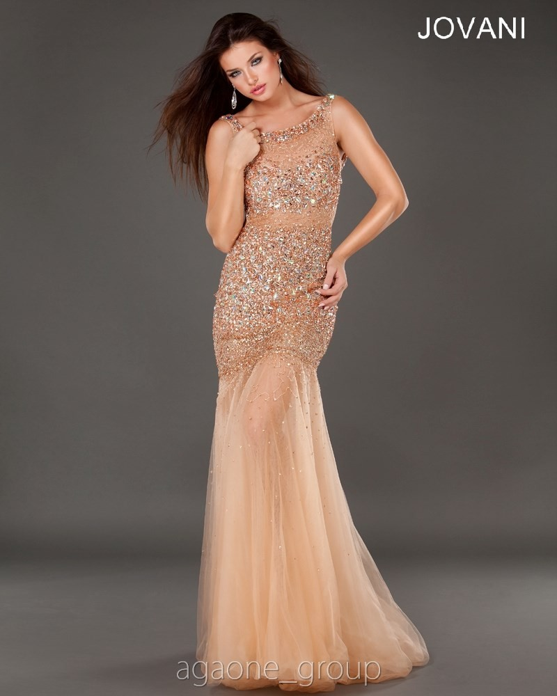 JOVANI Evening Dress 171100 Lowest Price GUARANTEE 0 2 4 6 8 10 12 Rose Gold | eBay