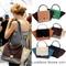 Classic womens colour block shopper bat tote purse satchel straped shoulder bag