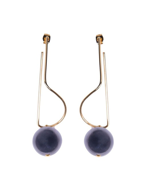 MARNI silver earrings earrings gold silver jewels