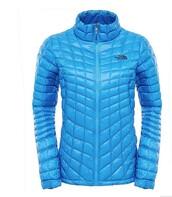 jacket,hood less,blue,blue jacket,north face jacket,north face,bubble,bubble jacket