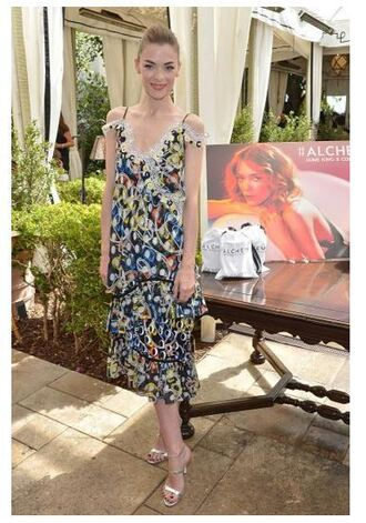 dress midi dress jaime king sandals shoes