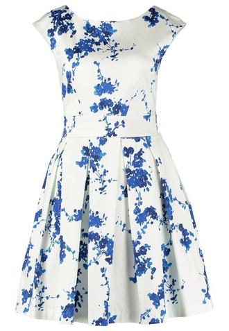 dress closet white blue classy closet dress