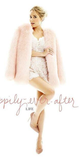 romper lace lauren conrad editorial pumps jacket fur fur jacket coat