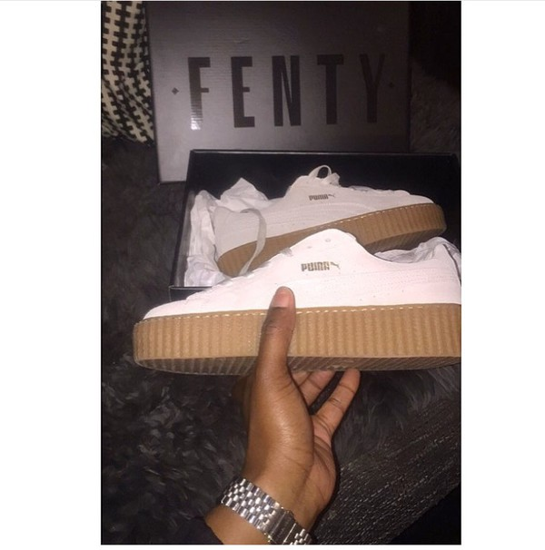 puma creepers rihanna foot locker