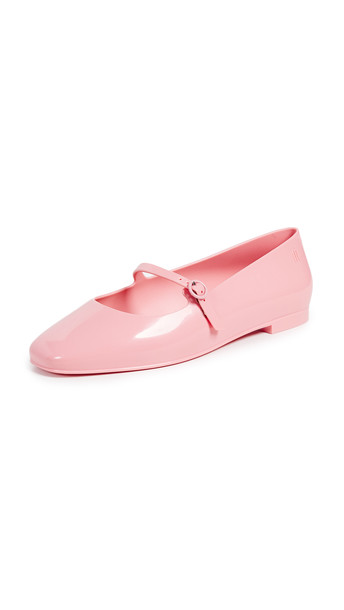 flats pink beige shoes