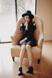 tricia gosingtian,blogger,dress,shoes