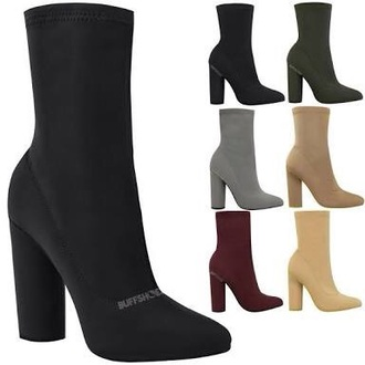 shoes boots chunky heel leather xanthe wessen