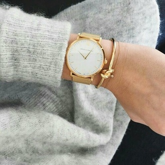 jewels watch beige montre beautiful elegant winter outfits winter swag parfait. parfaite girly girl girly wishlist women lovely accessories larsson and jennings