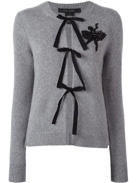 cardigan cardigan women embellished grey sweater