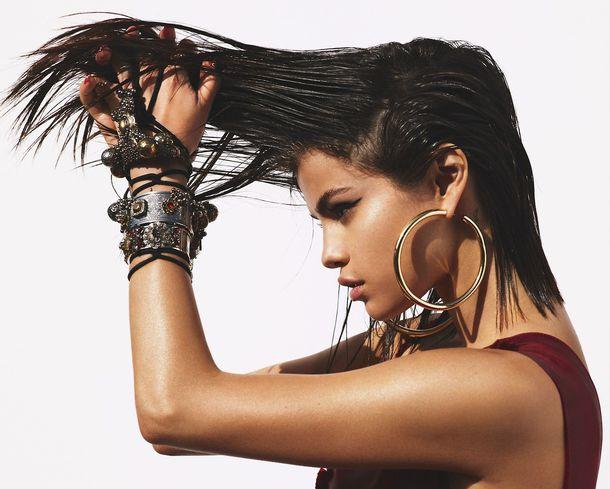 jewels bracelets earrings selena gomez editorial vogue