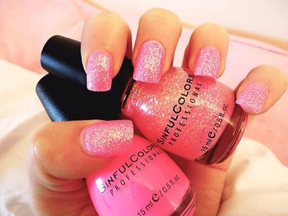 nail polish summer outfits nail art, nails, pink, metallic, polish, ring, rings, hand, fashion, trend, mirror, mirror shine, sh nail accessories sexy