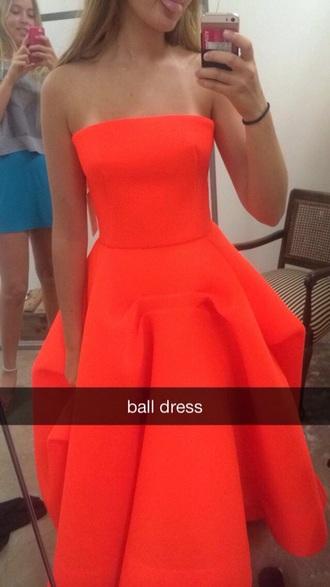 dress ball dress orange dress ball dress formal