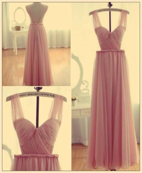 pink maxi dress prom dress prom homecoming dress long dress backless backless dress backless prom dress 1920s pretty dress