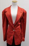Ellen tracy red blazer (size