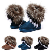 shoes,2014,2014 new shoes,woman shoes,boots,woman boots,rabbit fur,snow boots,winter boots,flat boots,ankle boots