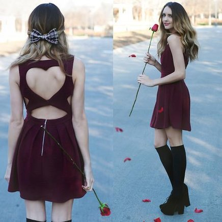 Vestido com decote de coração - Produto 543161 | AIRU