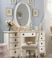 home accessory,dresser white love,dresser,makeup table,white