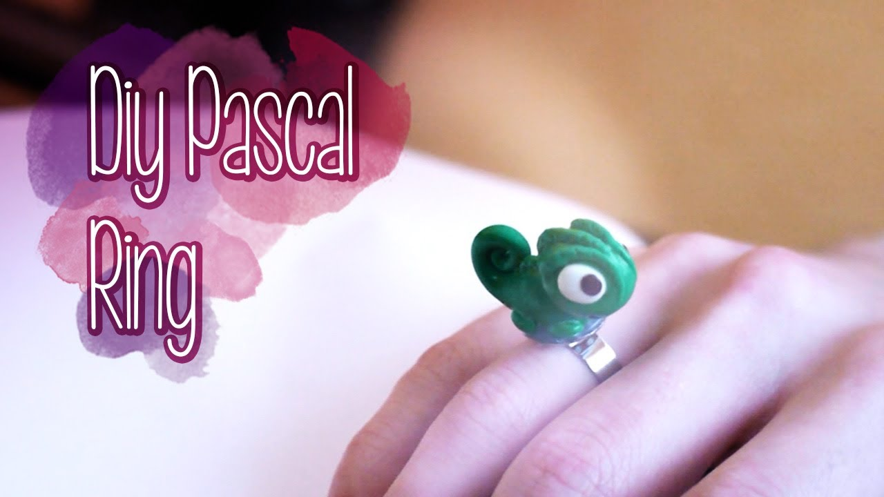 DIY Pascal the Chameleon Ring {Disney's Tangled} | Nekkoart - YouTube