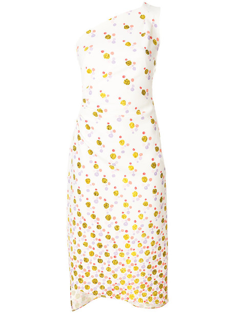 Peter Pilotto dress pencil dress women spandex white