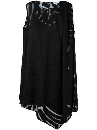 dress mini dress mini sheer black
