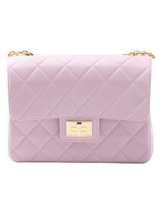 bag purple pink