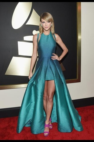 dress taylor swift green dress blue dress