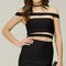 Kylie black out bandage dress