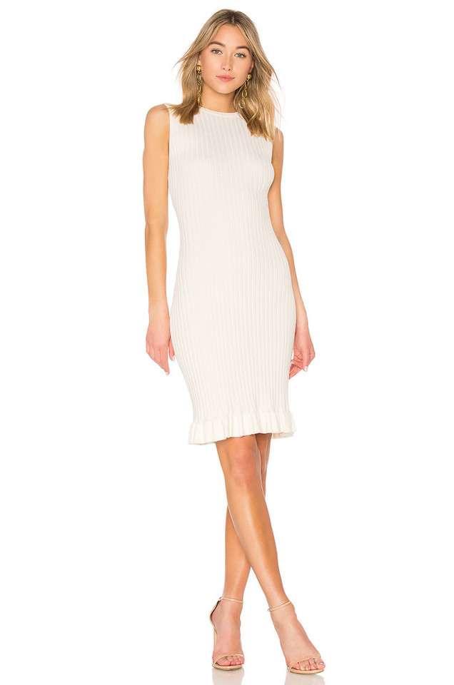 John & Jenn by Line Meredith Dress in ivory