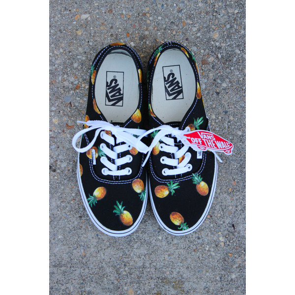 Pineapple VANS (fruit of your choice) - Polyvore