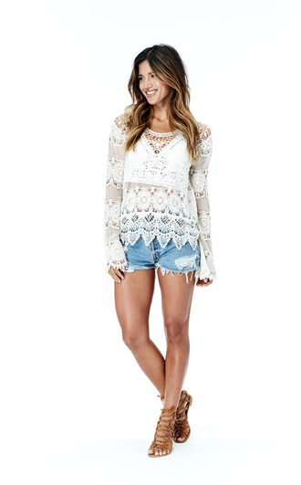 top crochet boho festival coachella coachella top lovestitch lovestitch women's clothing rocky barnes