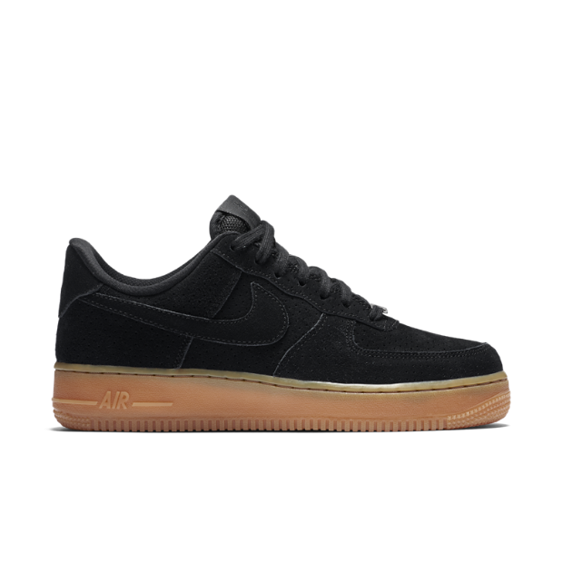 The Nike Air Force 1 07 Suede Women's Shoe.