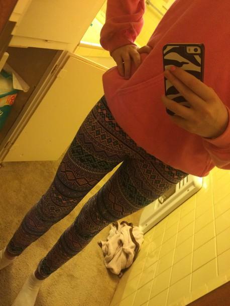 leggings different color design