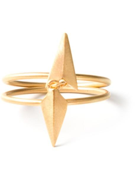 Maria Black metallic women ring jewels