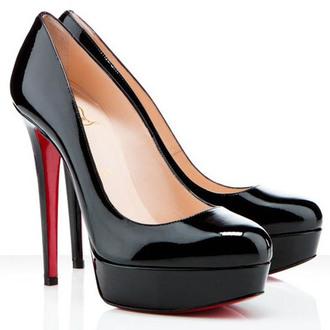 black milk black christian louboutin christian louboutin bianca 140mm patent pumps black little black dress pumps high heels fab