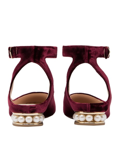 shoes burgundy
