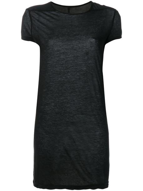 Rick Owens t-shirt shirt t-shirt women cotton black top