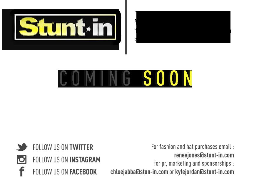 Stunt-In - New Website Coming Soon