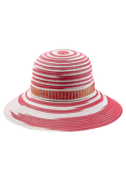 Missoni Mare Straw Hat  in pink