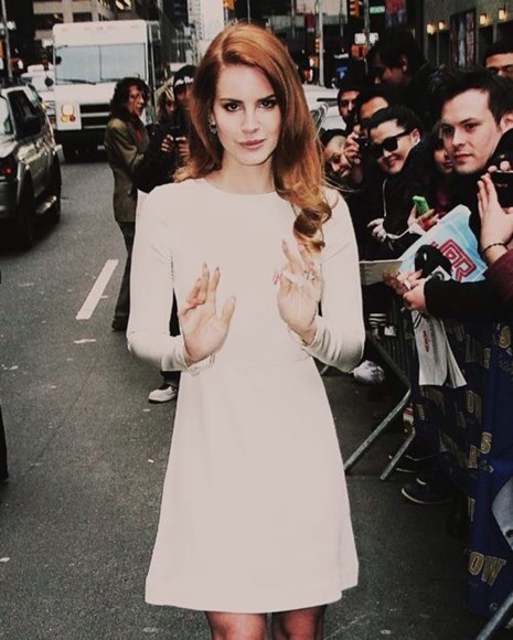 lana del rey dress white dress vintage cute classic urgent